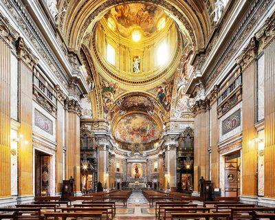 MAC OLLER, 'Chiesa del Gesu, Rome, Italy, Churches of Rome', 2019