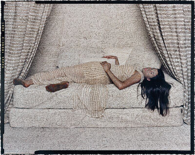 Lalla Essaydi, 'Les Femmes du Maroc: Harem Beauty #2', 2008