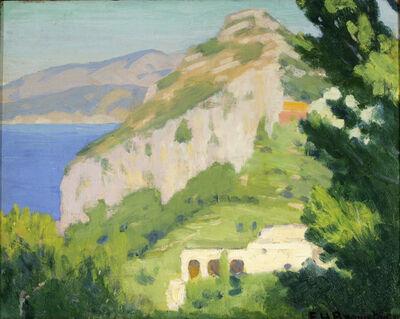 Earl Henry Brewster, 'Salto Di Tiberio, Capri', 1921