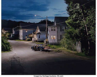 Gregory Crewdson, 'Untitled (car & spooky garage)', 2001