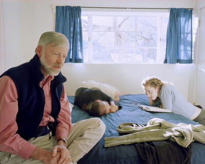 Jessica Todd Harper, 'Dad, Becky Laughing and Self Portrait', 2003