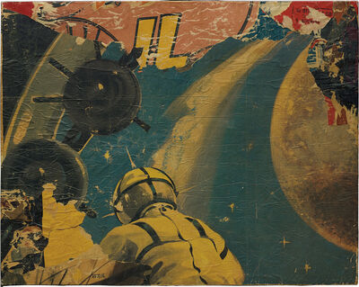 Mimmo Rotella, 'Untitled', ca. 1958