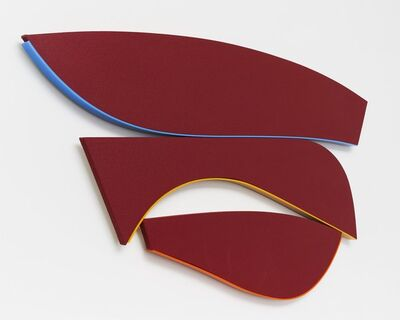 Kenneth Noland, 'Flares: Rise and Fall', 1991