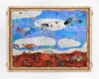 Ashley Bickerton, 'Round Cloud', 2020