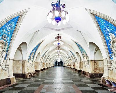 David Burdeny, 'Taganskaya Metro Station, Moscow, Russia', 2015