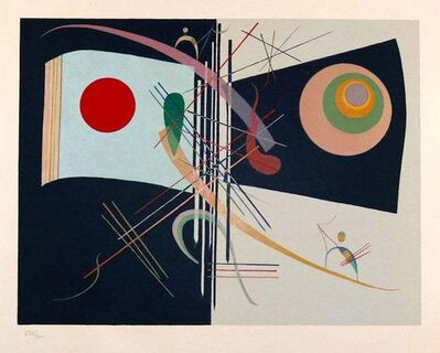 "Wassily Kandinsky, 'Composition from ""Derrière Le Miroir""', 1937"