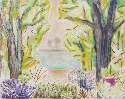 Jennifer Coates, 'Trees, Bushes, Weeds, Pond', 2017