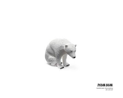 Nathan Sawaya, 'Polar Bear #2', 2019