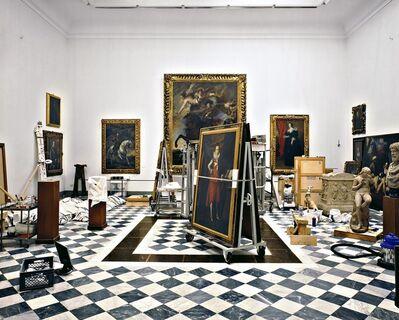 Massimo Listri, 'Galleria degli Uffizi, La Sala della Controriforma, Florence, Italy', 2008