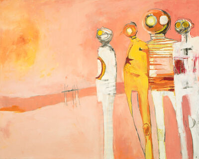 Deborah Hake Brinckerhoff, 'Stripes and Helmets ', 2019