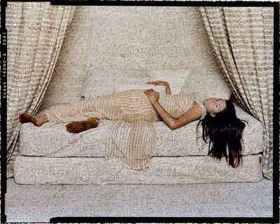 Lalla Essaydi, 'Harem Beauty #2', 2008