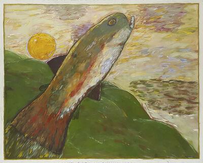 Gaylen Hansen, 'Trout with Sun', 1994