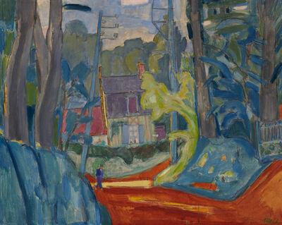 Martin Bloch, 'House in Varengeville, Normandy', 1939