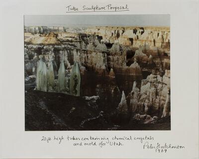 Peter Arthur Hutchinson, 'Tube Sculpture Proposal', 1969