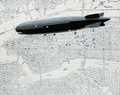 William Steiger, 'Dirigible Manhattan', 2020
