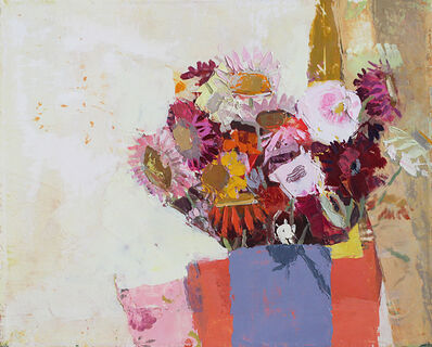 Sydney Licht, 'Still Life with Straw Flowers', 2016