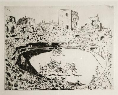 Pablo Picasso, 'Corrida en Arles', 1951