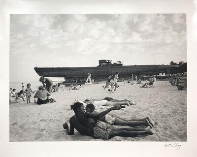 Art Shay, 'U505 Crossing Lake Shore Drive', 1954