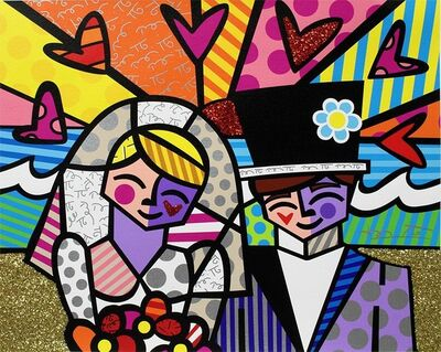 Romero Britto, 'Honeymoon At Sea (Ed No.032)', 2020