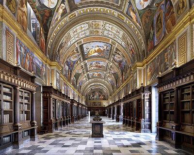 Massimo Listri, 'El Escorial Library, Biblioteca Real, Madrid, Spain | World Libraries', 2018