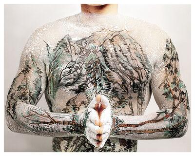 Huang Yan, 'Chinese Shan-shui Tattoo 04', 1999