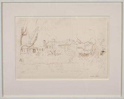 Fairfield Porter, 'The Artist's House, Southampton', ca. 1960