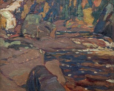 Alexander Young Jackson, 'Algoma (Riverside in Autumn)', 1921