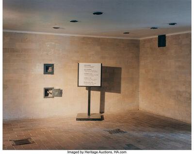 Andrea Robbins & Max Becher, 'Dachau Gas Chamber', 1994