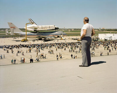 Joel Sternfeld, 'The Space Shuttle Columbia Lands at Kelly Lackland Air Force Base, March 1979', 1979