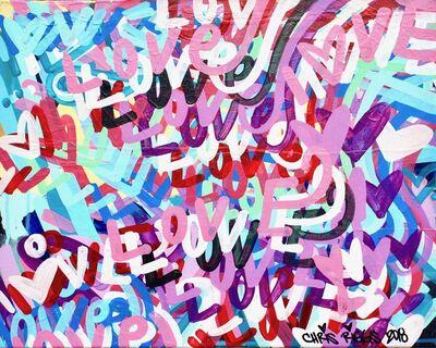 CHRIS RIGGS, 'Love Canvas 5', 2018