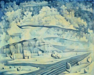 Jono Tew, 'Blue Farm '
