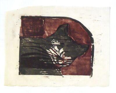 Sidney Goodman, 'Cat', ca. 1962