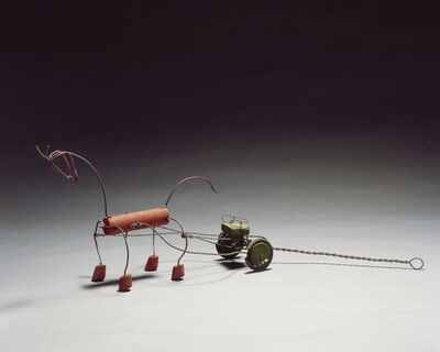 Alexander Calder, 'Red Horse and Green Sulky', 1926