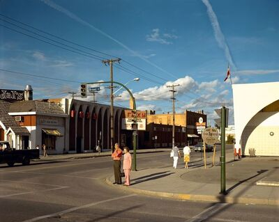 Stephen Shore, 'Broad Street, Regina, Saskatchewan, August 17, 1974', 1974