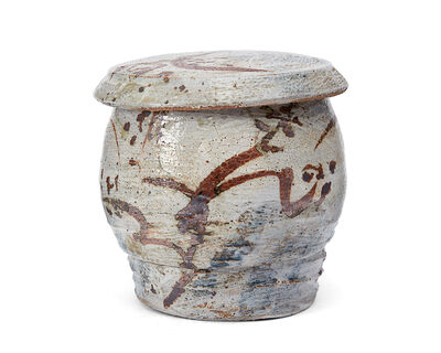 Peter Voulkos, 'Lidded jar'