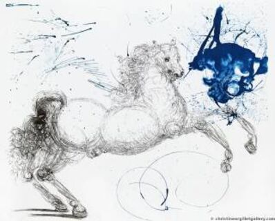 "Salvador Dalí, 'Mythology ""Pegasus""', 1964"
