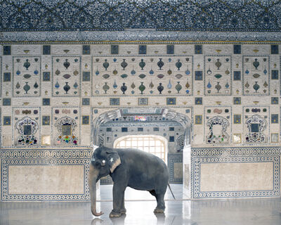 "Karen Knorr, 'Temple Servant from the series ""India Song""', 2014"