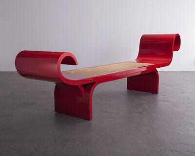 """Oscar Niemeyer, '""""Marquesa"""" bench', 2007-2008"""