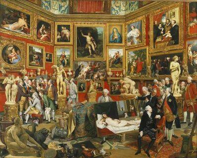 Johann Joseph Zoffany, 'The Tribuna of the Uffizi', 1777