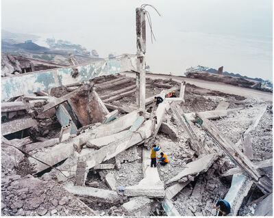 Edward Burtynsky, 'Three Gorges Dam Project, Wan Zhou #1, Yangtze River, China', 2002