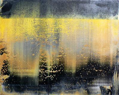 Harry Moody, 'Black Yellow Abstract Horizon #10'