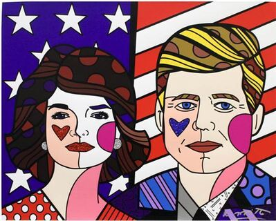 Romero Britto, 'AMERICAN DREAM', 2016