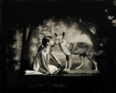 Keith Carter, 'Conversation With A Coyote '