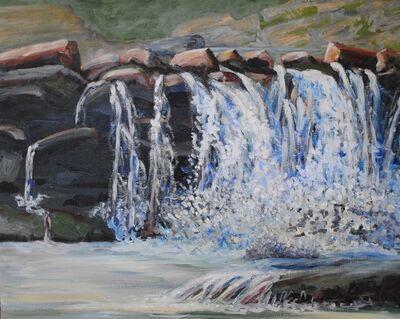 Linda Lynton, 'Saw Mill Falls [off Zena Road]', 2019