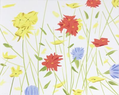Alex Katz, 'Wildflowers', 2017