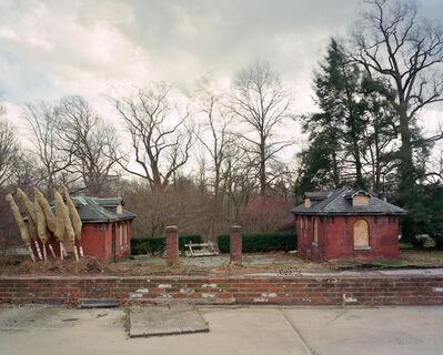 """Jade Doskow, 'Philadelphia 1876 World's Fair, """"Centennial Exposition,"""" Fair Toilet Buildings', 2008"""