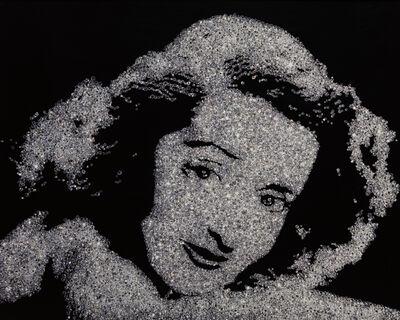 Vik Muniz, 'Bette Davis from Pictures of Diamonds', 2004
