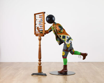 Yinka Shonibare CBE, 'Planets in My Head, Young Mathematician', 2019