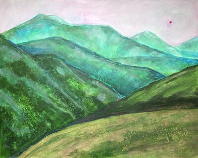 Randa Dubnick, 'Layers of Green', 2020