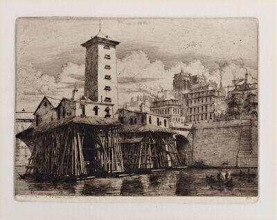 Charles Meryon, 'Le Pompe Notre-Dame', 1852